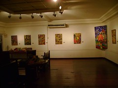 Casa Osmena also serves as an art gallery for aspiring Cebuano artist