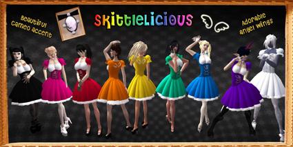 50L Friday.Adore & Abhor SkittleLicious Dress