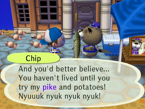 Pike and Potatoes