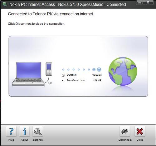 Testing Telenor Persona Connectivity