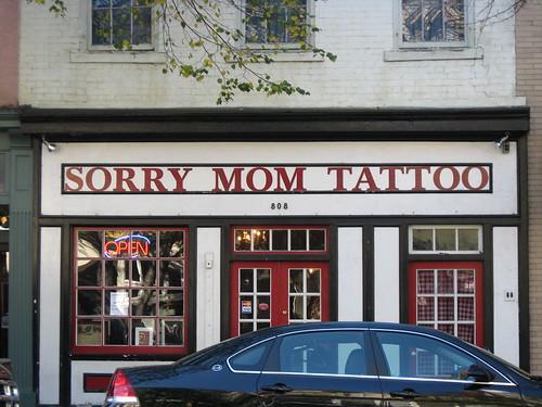 vintage tattoo parlor