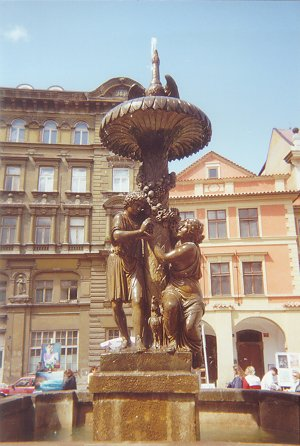 Fointaine à Prague