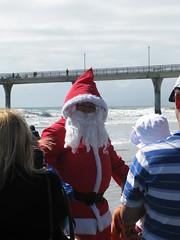 Santa arrives in New Brighton