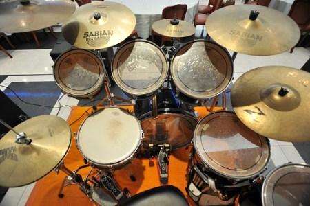 オイラのドラムセット