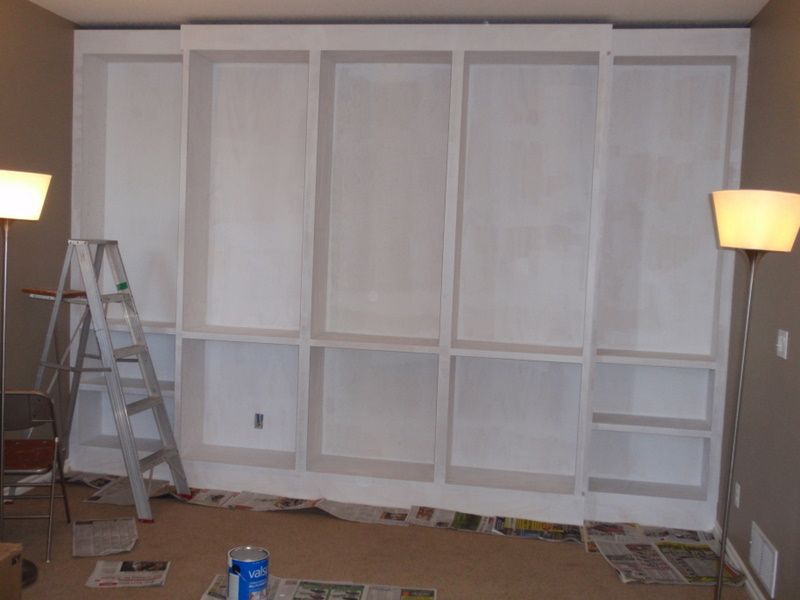 Primed Bookcase