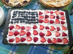 """Flag Cake"" - Made By Christine Turn..."