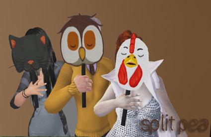 Split Pea - Week 09 - Animated Animal Masks