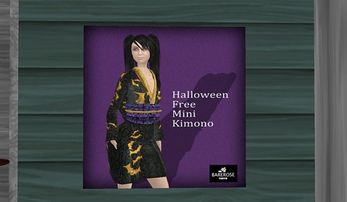 Barerose Halloween Free Kimono @ The Deck