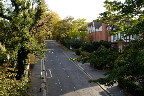 Looking down at Crouch End