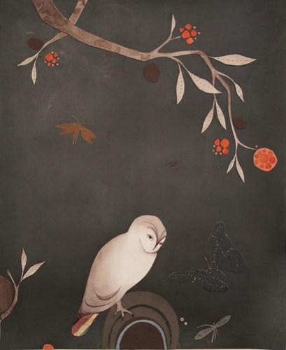 Lena Wolfe butterfly owl hill