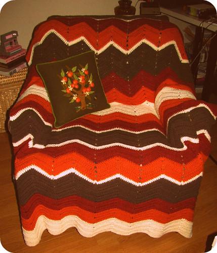 70's Knit Blanket