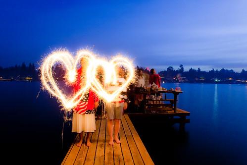 Sparkle Hearts, Lake Tapps, WA