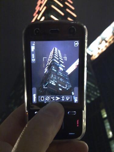 Another Nokia N86 money shot: Taipei 101