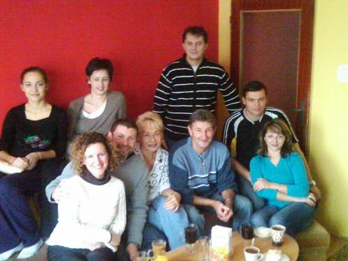 Brian's family in Slovakia