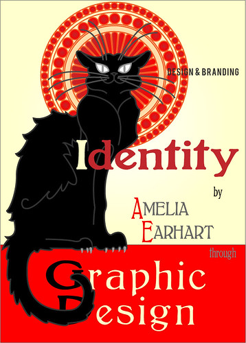 Chat Noir by Amelia Earhart