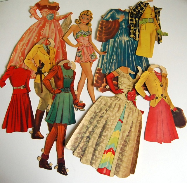 1940s paper dolls 3
