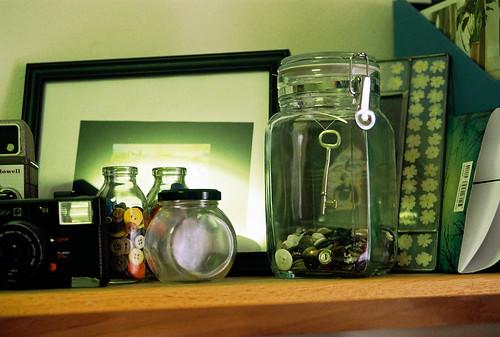 key in a jar