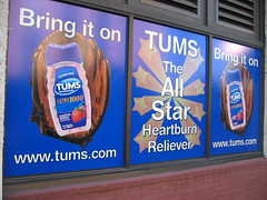 Bring it on: TUMS