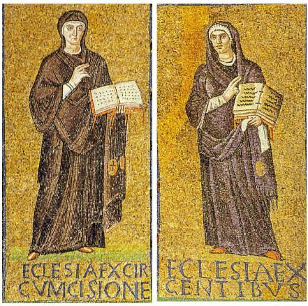 Ecclesia ex circumcisione, Ecclesia ex gentibus.