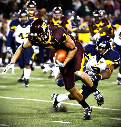 Football action. Photo credit: JSmith, Creative Commons, Flickr
