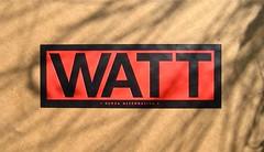 WATT http://www.wattmagazine.it/, 2