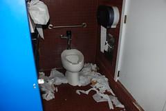 Dirtiest bathroom ever!