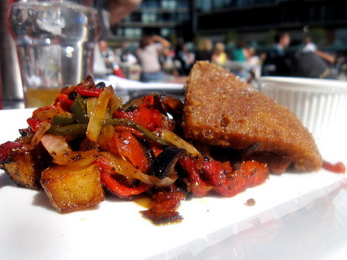 Scrapple, Potato Hash, & Maple Ketchup - Swift Half