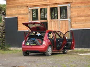 My Nissan Micra and Home for a Night