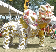 Lion Dance with 2 Lions