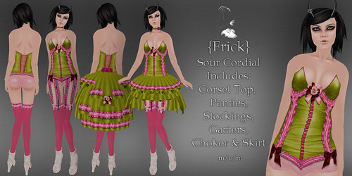 Frick - Sour Cordial - Ad