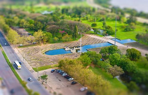 Parque Marinha do Brasil | Tilt-Shift Fake