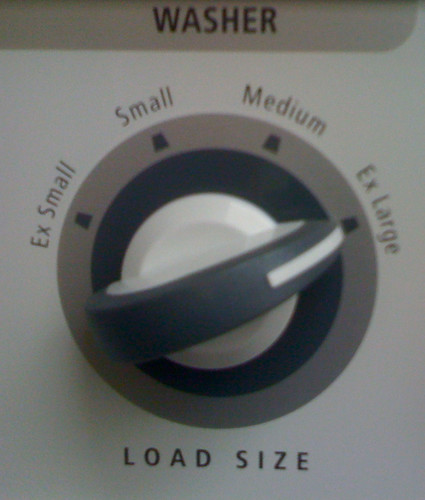 Washer Dial