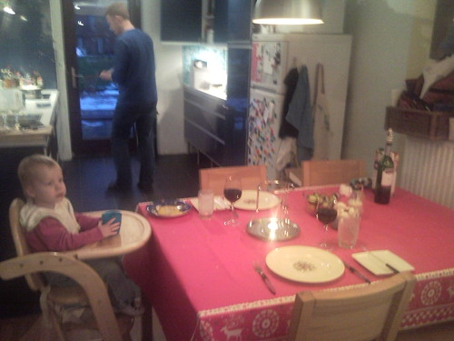Tweede kerstdag, kaasfondue