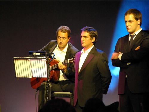 António Zambujo (avec Camané à sa droite)