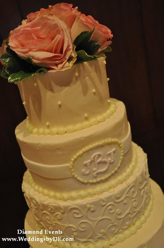 Top of Wedding Cake