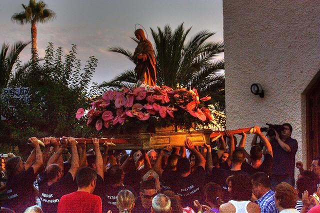 Procesión de la Virgen de la Alegría