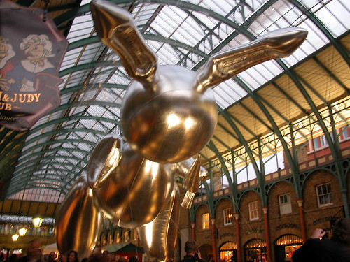 Rabbit, Jeff Koons, 2007