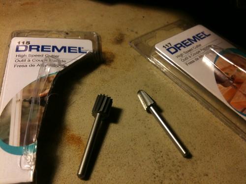 ESSENTIAL DREMEL BITS: for aluminum