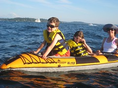 Kayaking on Lake Washington