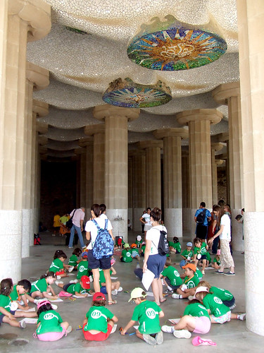La Sala Hipóstila del Parque Güell