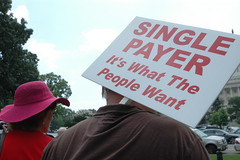 Single-payer rally