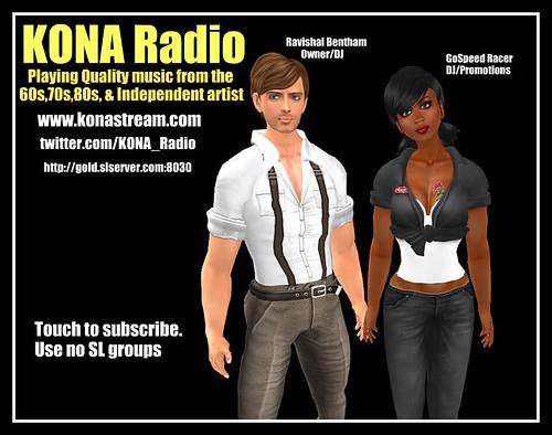 KONA Radio poster 6