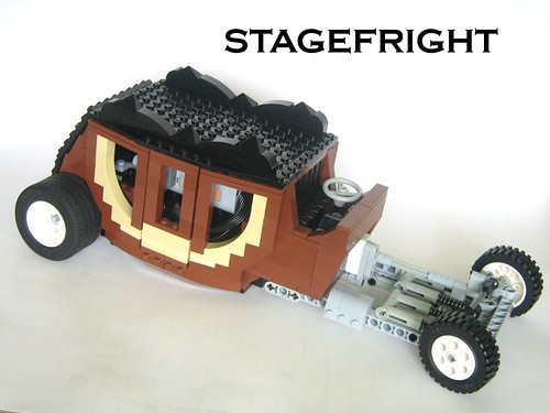 LEGO Hotwheels Stagefright Showrod