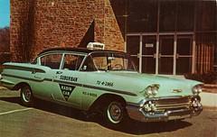 1958 Chevrolet Taxicab, Suburban Radio Cab Co.