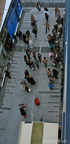 TopShop Grand Opening on Opera Lane