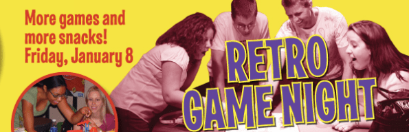 Retro Game Night at the History Center