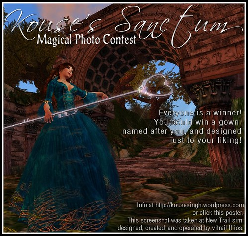 Kouse's Sanctum Photo Contest
