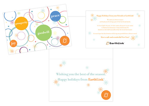 earthlink holiday card