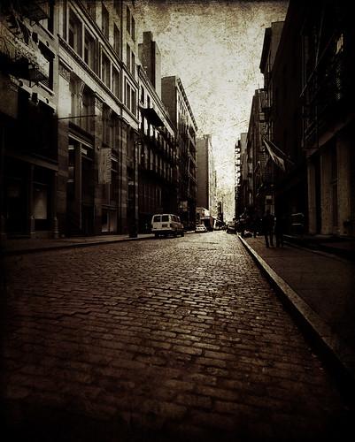 Mercer St, NYC - foto: hall.chris25, flickr