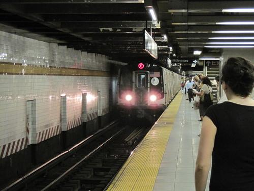 14th Station:  E Line